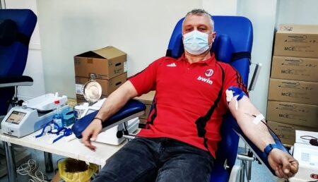 Bogdan Aristănţoiu, omul din spatele uniformei: donează sânge de 5 – 6 ori pe an