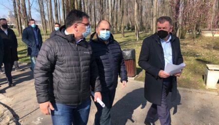 Proiectul pentru parcul de agrement din Pitești prinde contur