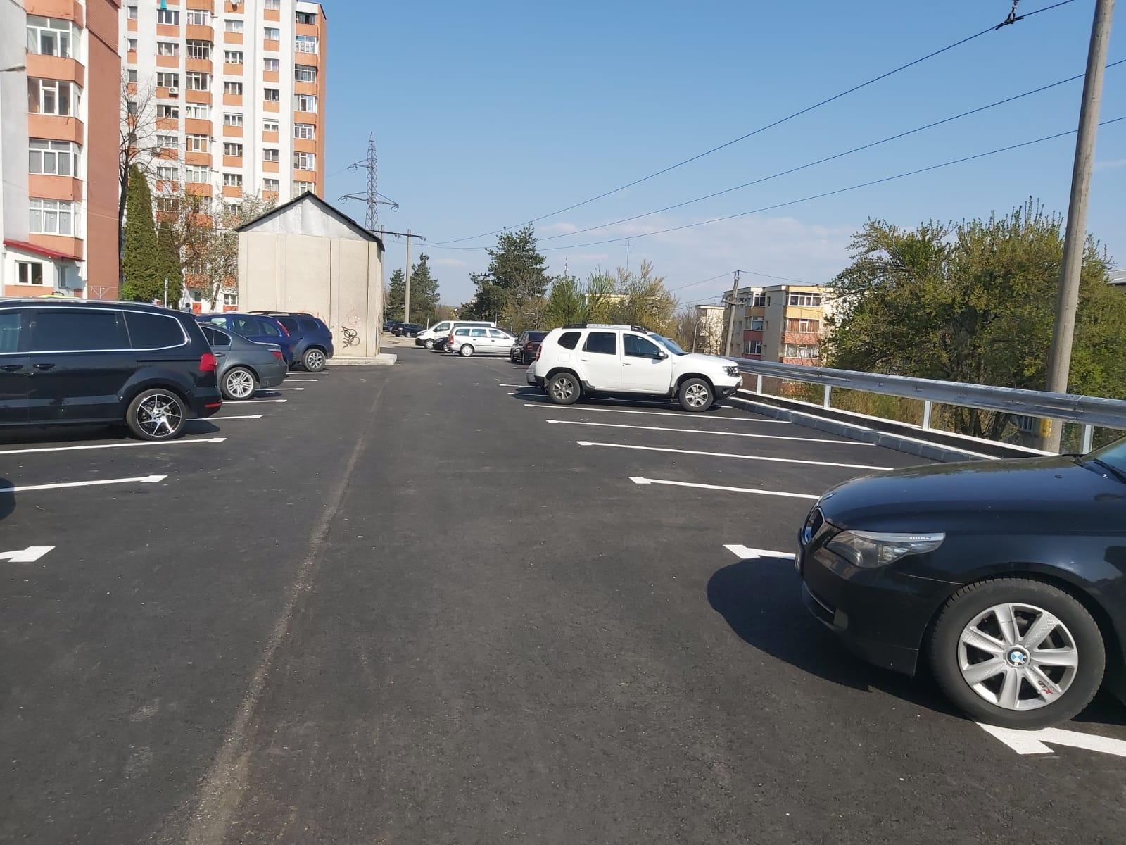 42 de noi locuri de parcare în Piteşti. Unde le găsiţi