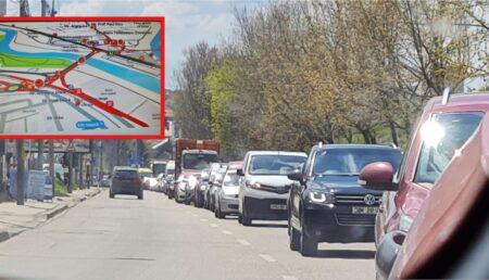 Traficul rutier din Piteşti, PARALIZAT. Încep sărbătorile şi e deja nebunie