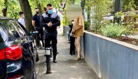 """Piteşti: Trimis în judecată după ce a făcut """"striptease"""" în cartier"""