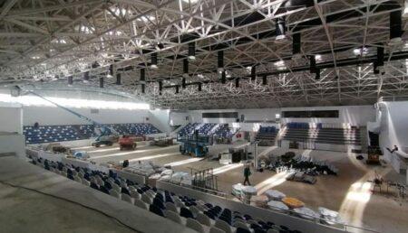Sala Sporturilor din Mioveni, aproape gata de inaugurare