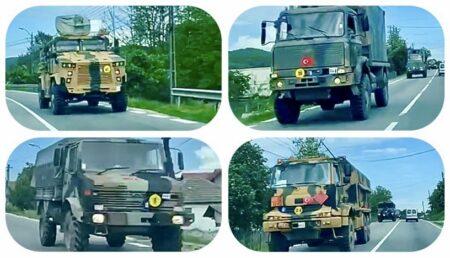 Convoi militar turcesc –  în Argeș!