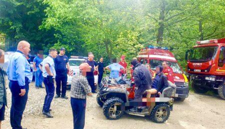 Acțiuni de amploare pentru localizarea, căutarea și salvarea unui bărbat rătăcit în pădure