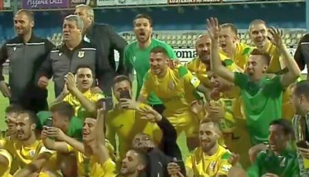 CS Mioveni revine în Liga 1 după 9 ani