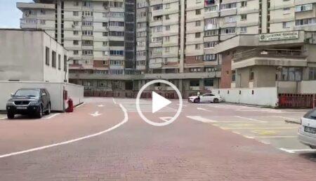 """Video: """"Raiul"""" parcărilor unde nu vrea nimeni. Zeci de locuri libere, nefolosite, în centrul Piteştiului"""