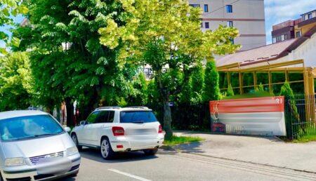 """Pericol lângă restaurantul """"La Butoaie"""" din Pitești"""