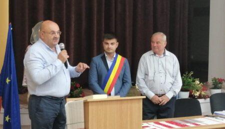 Victor Mihai Bălășoiu, învestit în funcția de primar al comunei Rociu