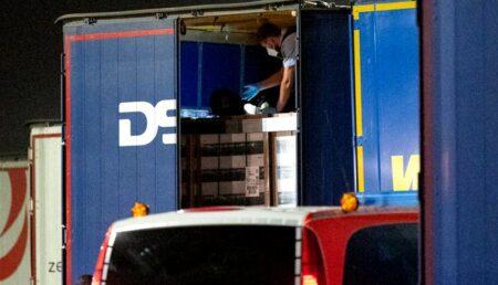 Migrant din Maroc, depistat la Lerești într-un camion de marfă