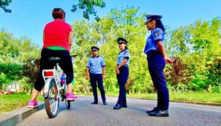Video: Bicicliștii din Lunca Argeșului, luați în colimator de polițiști