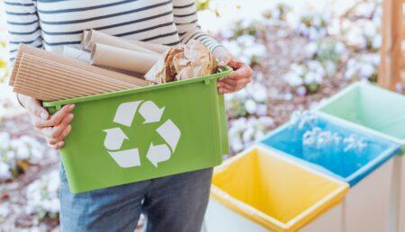 Mioveni: Acțiune de colectare a deșeurilor reciclabile