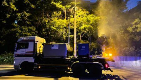 Miercuri seara, a doua trecere a tunurilor pentru dezinsecție în Pitești