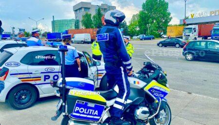 Șofer de BMW, prins cu 115 km/h pe Frații Golești