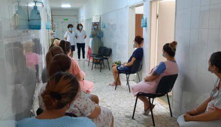 """Video – """"Simfonia alăptării"""", la Spitalul Județean de Urgență Pitești"""