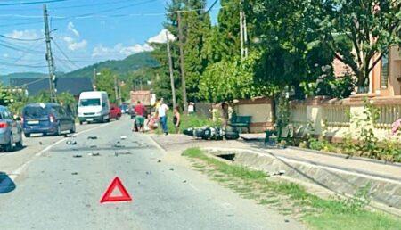 Accident în Argeș! Implicat un motociclist!