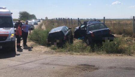 Video – Alt accident mortal în Argeș! Două autoturisme s-au izbit violent