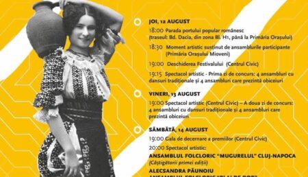 """Astăzi debutează Festivalul – Concurs Național de Folclor """"Mioveni""""!"""