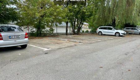 Marea demolare continuă! Se construiesc parcări în locul garajelor ilegale din Pitești