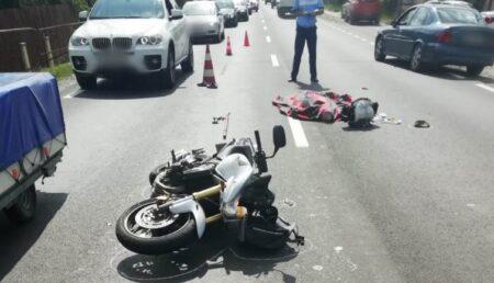 Update: Motociclistul care a lovit mortal o femeie, în Argeș, nu avea permis