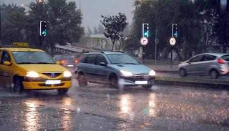 Cod galben de ploi în Argeș