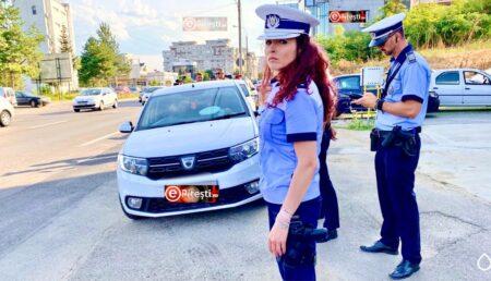 Argeş: Sancţiuni aplicate de poliţiştii rutieri