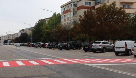 O nouă trecere de pietoni pe Bulevardul Dacia