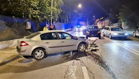 Video: Accident în Pitești – produs de un  șofer beat