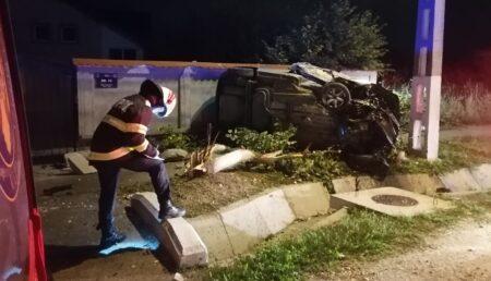 Alt accident grav lângă Pitești!