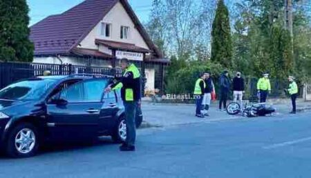Video – Accident cu motociclist!