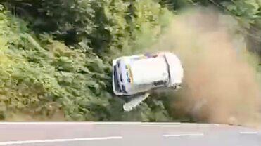 Imagini video incredibile! Accident grav la Trofeul Câmpulung!