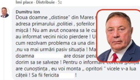 """Primarul de la Albota """"deconspiră"""" o femeie, enervat de criticile acesteia: """"Doamna are dosar penal"""""""
