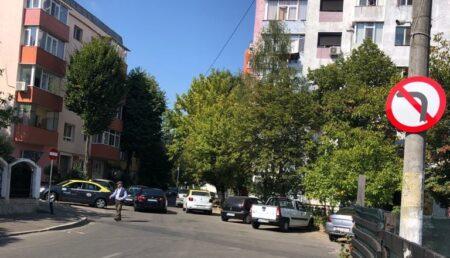 Un nou sens unic de circulație instituit în cartierul piteștean Găvana