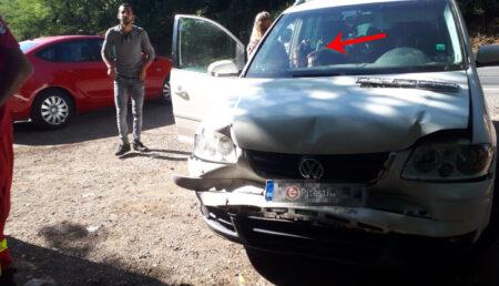 Argeş: Eveniment rutier cu doi copii implicaţi. Poliţia şi SMURD prezente