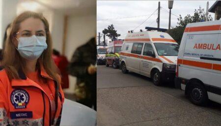 """""""Ambulanțele plimbă pacienții între spitale în căutarea unui loc cu oxigen"""""""