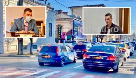 """Comisia de Circulație, prin semnăturile lui Tofan și Chiriță, ia la """"mișto"""" piteștenii"""
