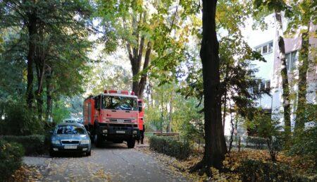Alertă de incendiu într-un apartament din Pitești