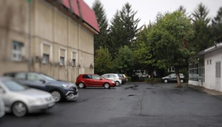 Pitești: Parcare nouă în locul garajelor demolate