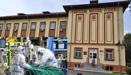 13 noi paturi cu oxigen se vor transforma în paturi pentru covid, la Spitalul Militar